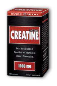 Natural Balance: Creatine 1000 90 Cap 1000mg