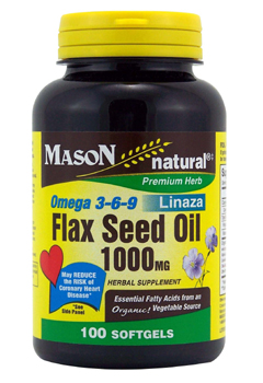 Omega 3-6-9 1200Mg Fish Flax & Borage Oil Softgels 60 softgel from MASON VITAMINS