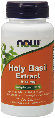 HOLY BASIL EXTRACT 90 VCAPS, 1