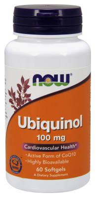 Ubiquinol 100 mg, 60 Softgels