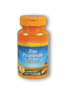 Thompson Nutritional: Zinc Picolinate 25mg 60ct 25mg