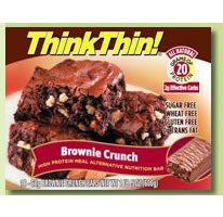 THINK PRODUCTS: THINK THIN BAR CHUNKY PB 10  BX 10 box