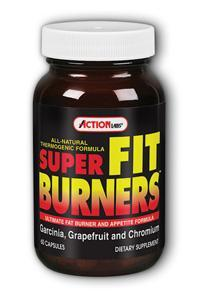 Action Labs: Super Fit Burners (Thermogenic Formula) 60ct