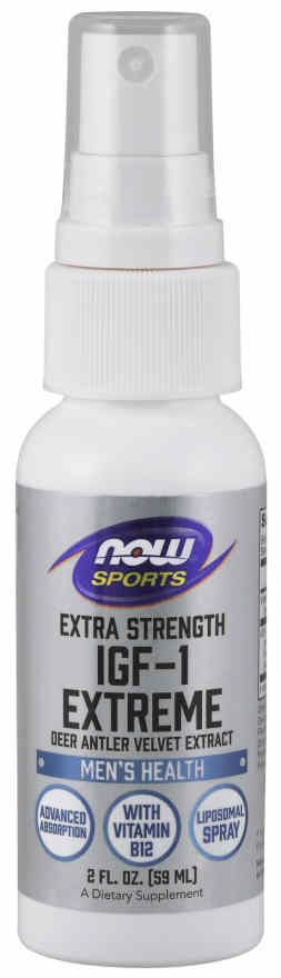 NOW: IGF-1 EXTREME EXTRA STRENGTH LIPOSOMAL SPRAY 2 OZ