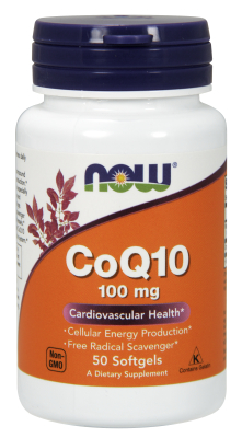 CoQ10 100mg   50 SGELS, 50 SOFTGELS