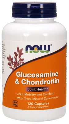 NOW: GLUCOS & CHONDROITIN  120 CAPS 1