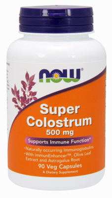 SUPER COLOSTRUM   500MG   90 VCAPS 90 v caps from NOW