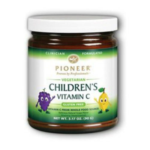 Pioneer: Children's Vitamin C (Grape) 90 g Pwd