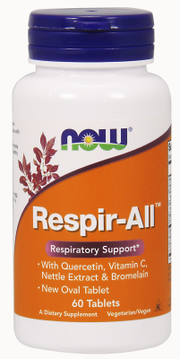 NOW: RESPIR-ALL ALLERGY  60 TABS 1