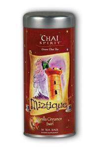 Miztique: Chai spirit tea 35ct 2g