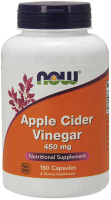 APPLE CIDER VINEGAR 450 MG 180 vCAPS 180 VCAPS from NOW