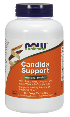NOW: CANDIDA CLEAR (TM) FORMULA 180 VCAPS