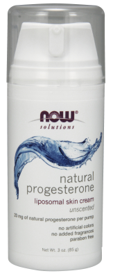 NOW: PROGESTERONE CREAM   3 OZ 1