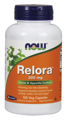 NOW: RELORA (R) 300mg 120 VCAPS