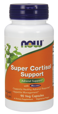 NOW: Super Cortisol Support with Relora 90 Vcaps