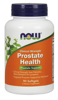 NOW: Prostate Health Clinical Strength 90 Gels