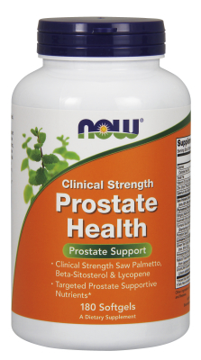 NOW: Prostate Health Clinical Strength 180 Gels