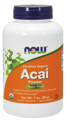 NOW: Acai Powder 3 oz