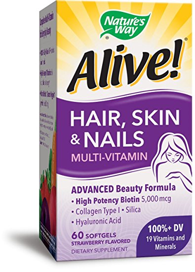 Alive Hair Skin & Nails Gummy