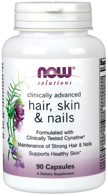 Hair Skin And Nails With Cynatine, 90 Capsules