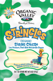 Organic Valley: Stringles,og,part skim 6 OZ