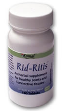 KOMAL HERBALS: Rid-Ritis 100 tabs