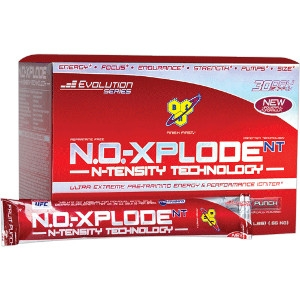 BSN INC: NO-XPLODE SHOT BLUE RASPBERRY  4oz12 4oz12 CASE