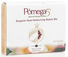 POMEGA INC: MOIST BEAUTY BAR BULGARIAN ROSE 120G