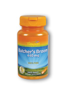 Thompson Nutritional: Butcher's Broom 440mg 60ct 440mg
