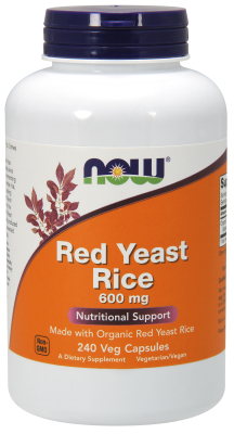 Red Yeast Rice 600mg, 240 Vcaps
