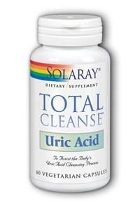 Solaray: Total Cleanse Uric Acid 60 Vcp