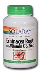 Echinacea With Vitamin C & Zinc, 100ct 850mg