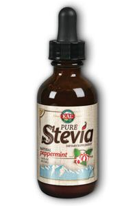 KAL: Pure Stevia Extract (Peppermint) 1.8 oz Liq