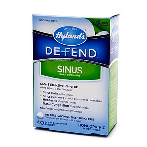 HYLANDS: DEFEND SINUS 40 Tabs