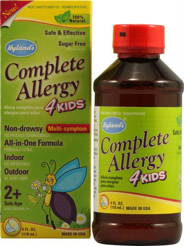 HYLANDS: Complete Allergy 4 Kids 4 oz