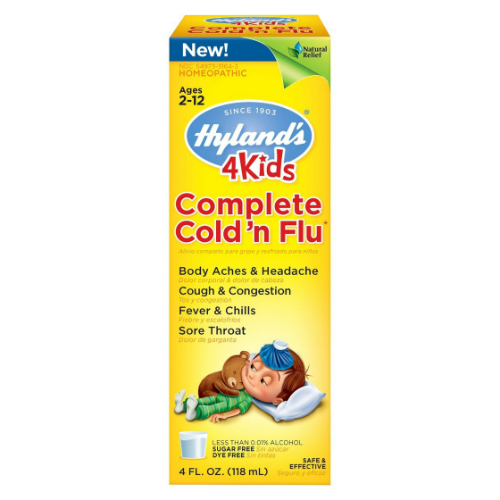 HYLANDS: 4 Kids Complete Cold 'N Flu 4 oz