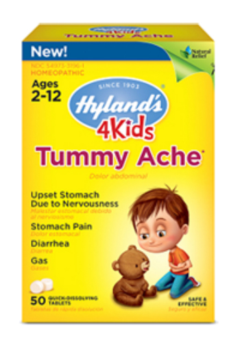 HYLANDS: 4 Kids Tummy Ache 50 tab