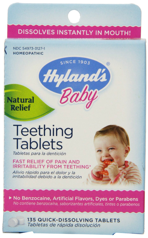 HYLANDS: Baby Nighttime Teething 135 tab