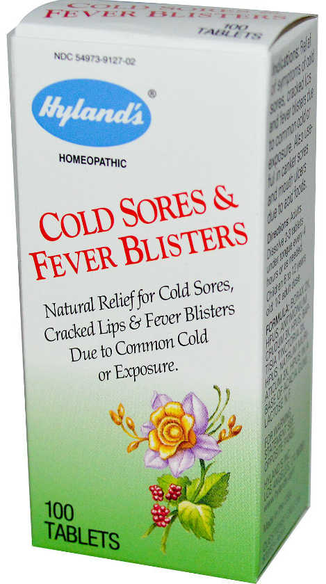 HYLANDS: Cold Sores & Fever Blisters 100 TAB
