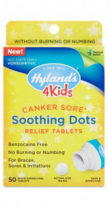 HYLANDS: Canker Sore Soothing Dots 50 TAB