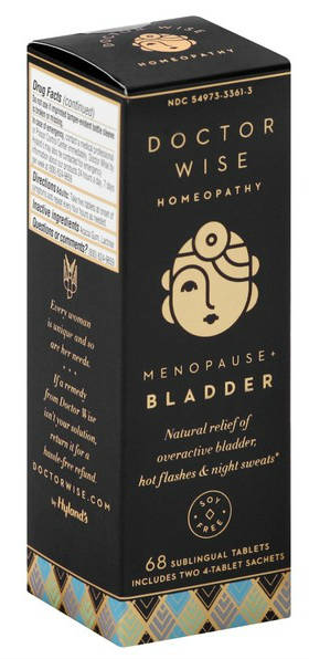 DOCTOR WISE: Doctor Wise Homeopathy Menopause Plus Bladder Tablets 68 tablet