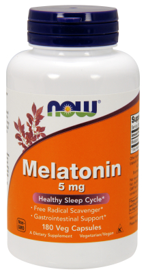 Melatonin 5 mg, 180 Vcaps
