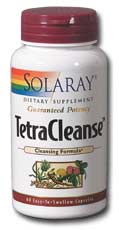 Solaray: Tetra Cleanse 60ct