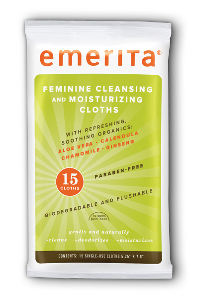 Feminine Cleansing and Moisturizing Clothes