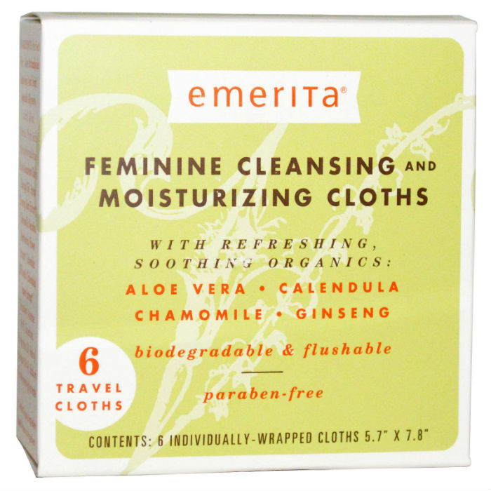 Feminine Cleanse And Moisture Clothes