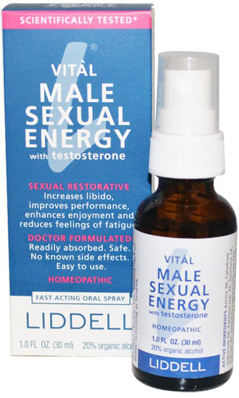 vital male sexual energy with testosterone
