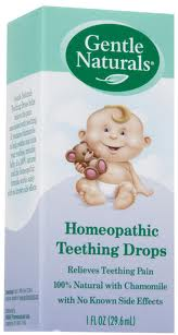 GENTLE NATURALS: Baby Homeopathic Teething Drops 1 oz