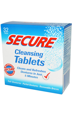 BIOFORCE USA: Secure Cleansing Tablets 64 gm