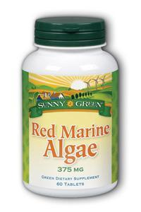 Red Marine Algae 375mg, 60 Tablets