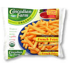 Cascadian Farm: French fries,og,straight 16 OZ